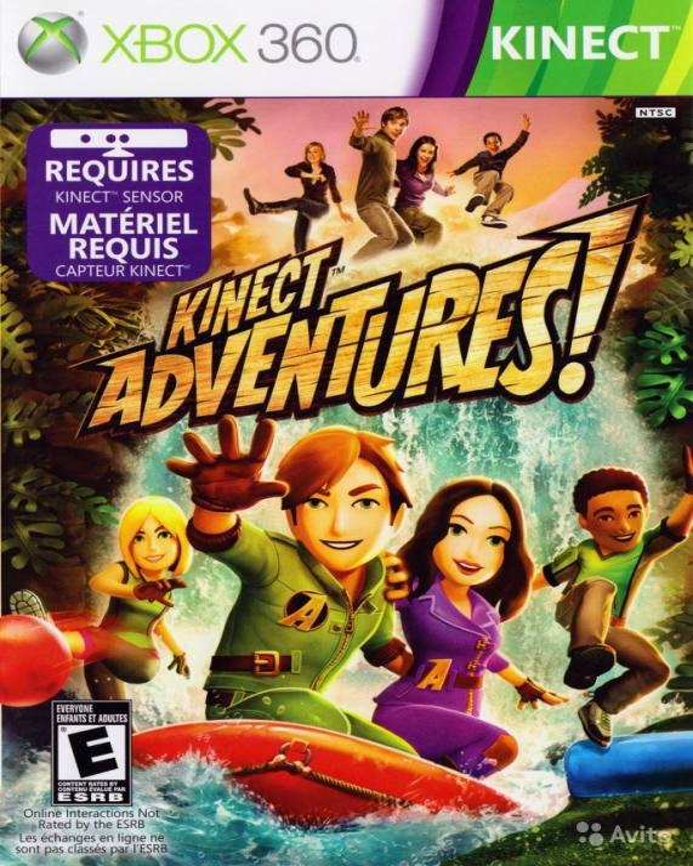 XBOX 360 Kinect Adventures KINECT