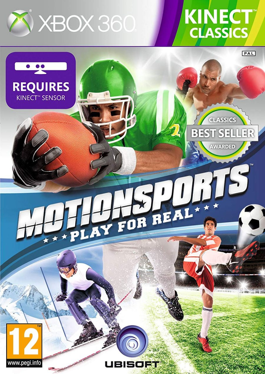XBOX 360 Motionsports - Play For Real KINECT