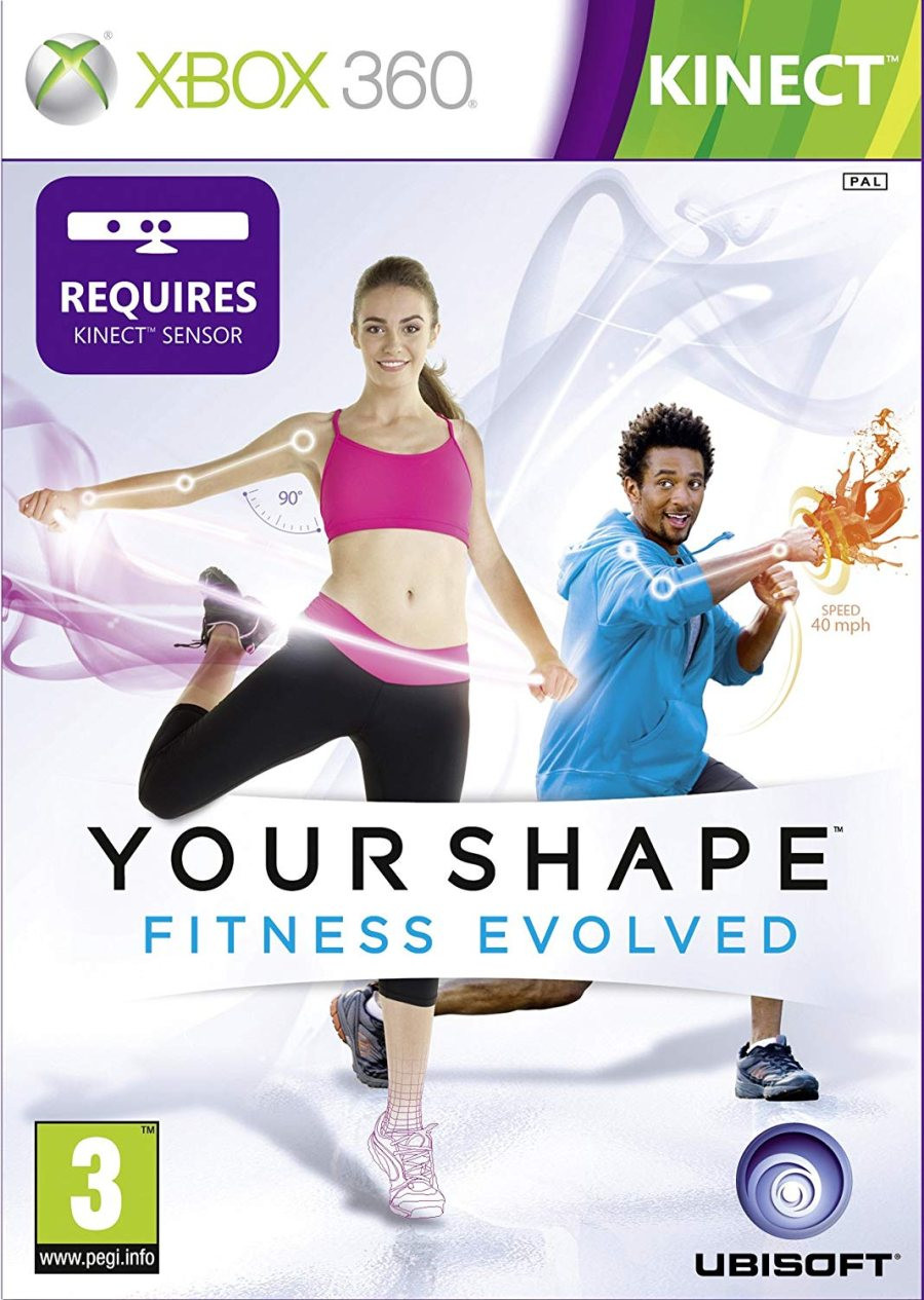 XBOX 360 Your Shape Fitness Evolved KINECT