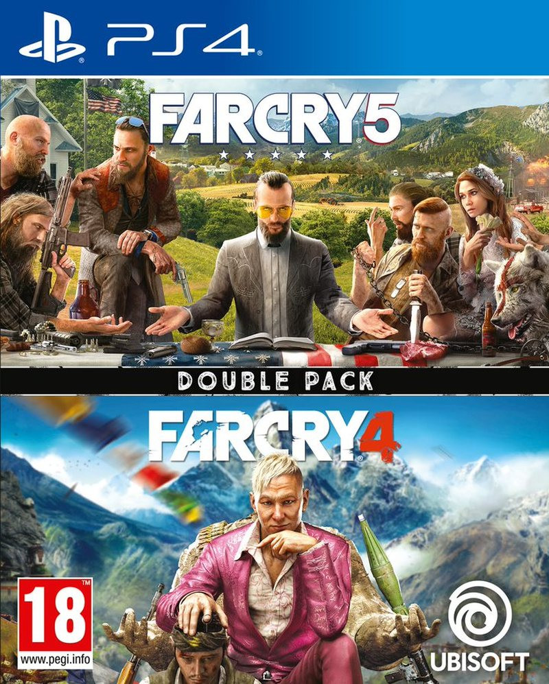 PS4 Far Cry 4 & Far Cry 5 Double Pack