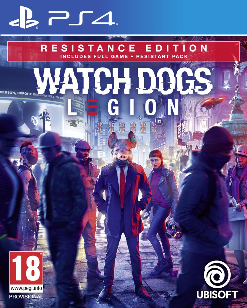 PS4 Watch Dogs Legion - Ultimate Edition
