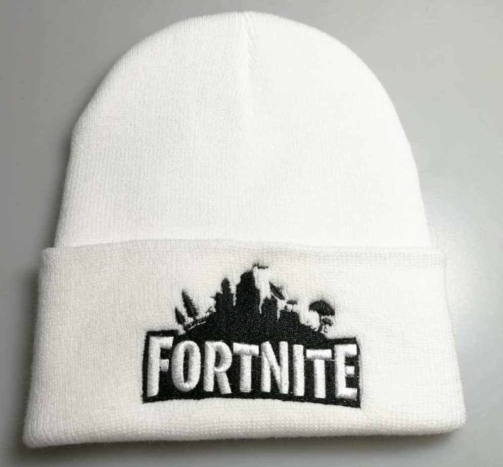 Kačket Fortnite Cap - White