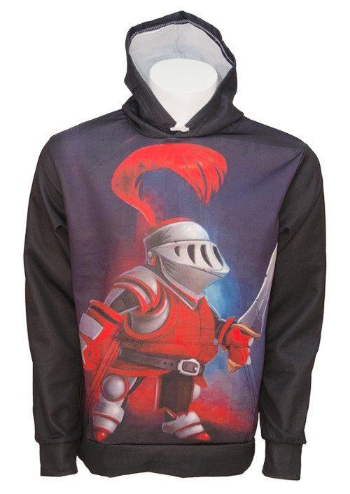 Duks Fortnite Hoodie 04 - Knight XL