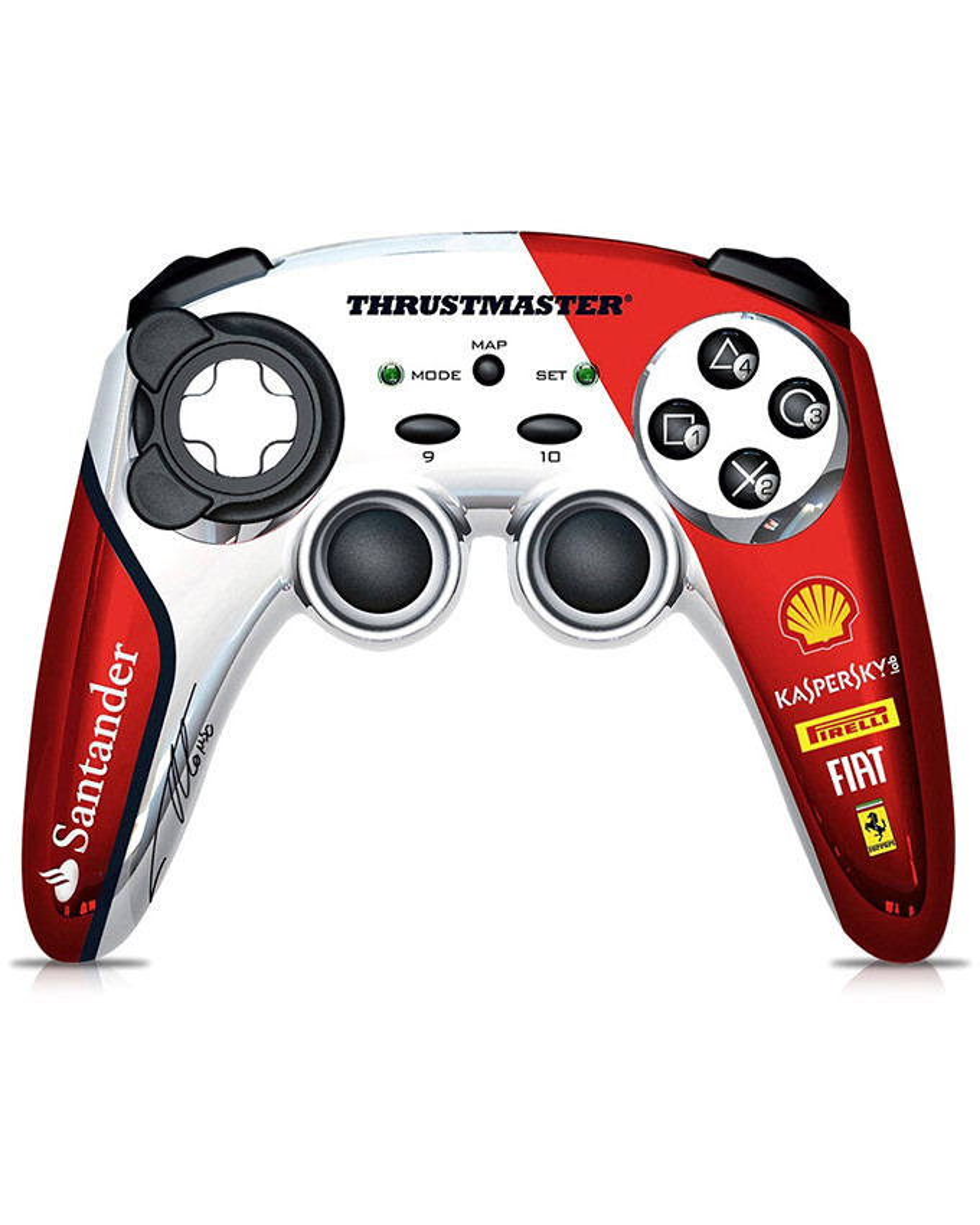 Gamepad Thrustmaster F1 Wireless Gamepad F150 Italia - Alonso LE PCG / PS3