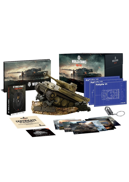 PCG World of Tanks Collector's edition