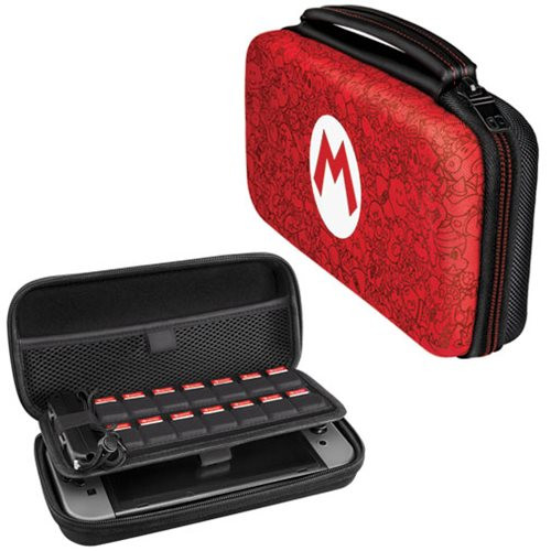 Futrola Nintendo SWITCH Deluxe Travel Case Mario Remix