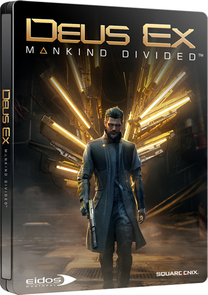 XBOX ONE Deus Ex Mankind Divided Steelbook