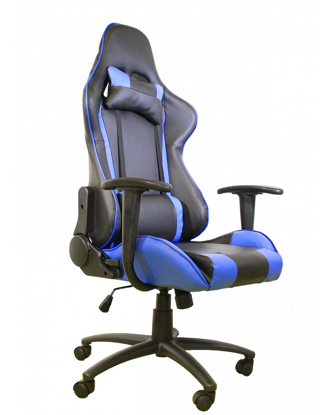 Gejmerska stolica AH Seating e-Sport DS-042 Blue / Black