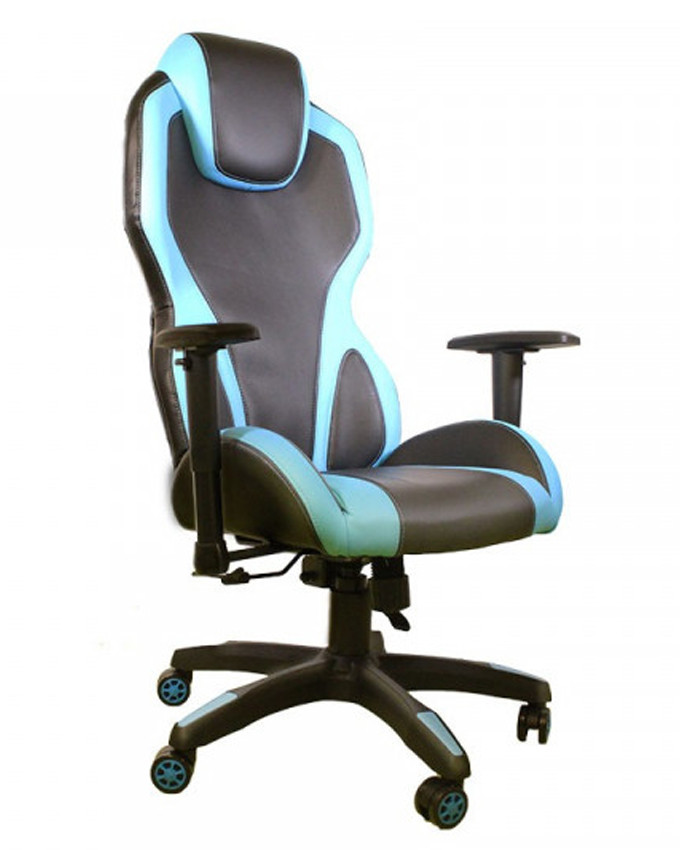 Gejmerska stolica AH Seating e-Sport DS-059 Blue / Black