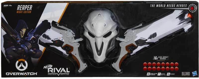 Puška Hasbro Nerf - Rival Overwatch Reaper Wight Collector Pack