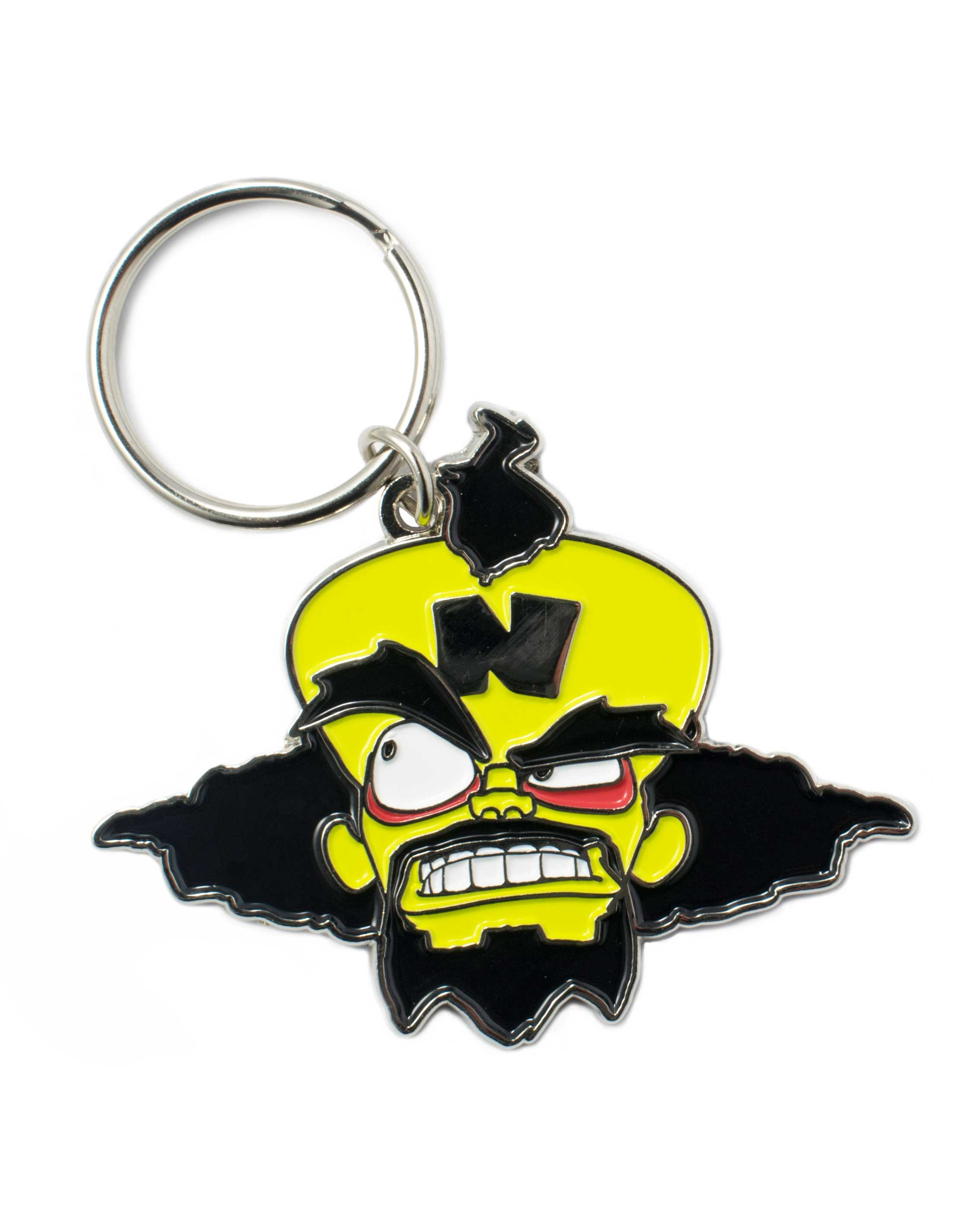 Privezak Dr Neo Cortex (Crash Bandicoot) Keyring
