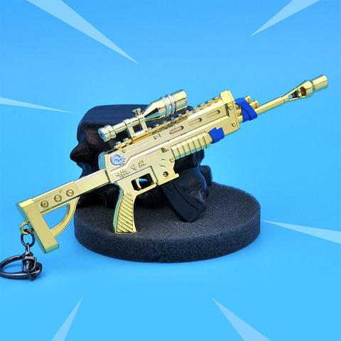 Privezak Fortnite Assault Rifle Sight Legendary - Large Keychain