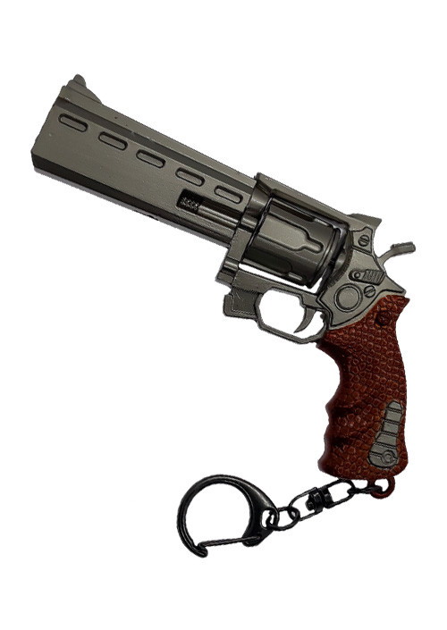 Privezak Fortnite Silver Revolver - Large Keychain