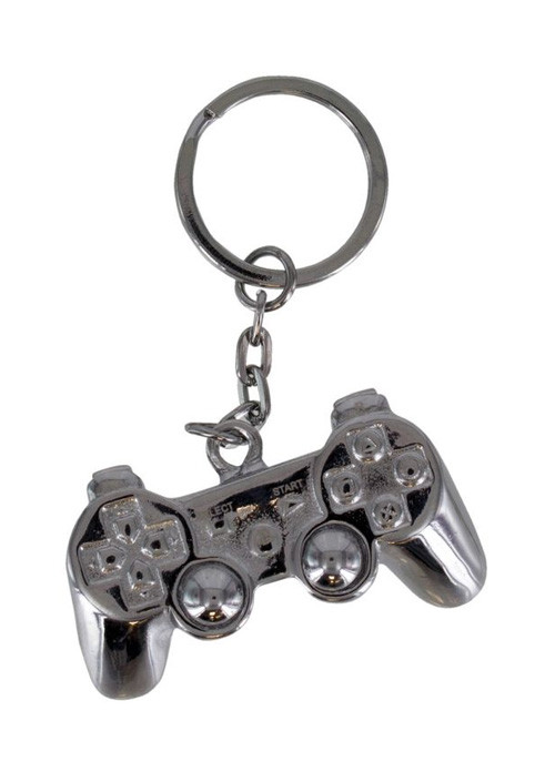 Privezak Playstation - 3D Metal Keyring
