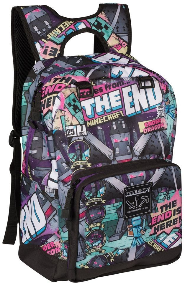Ranac Minecraft 17 Tales From The End Multicolor Backpack