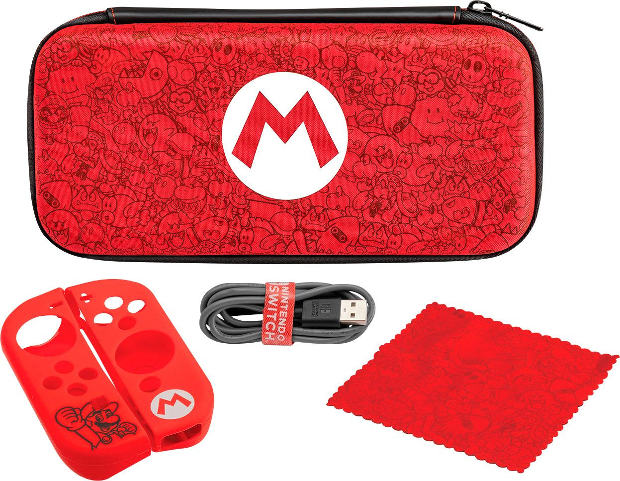 Starter Kit Nintendo SWITCH Mario Remix Edition