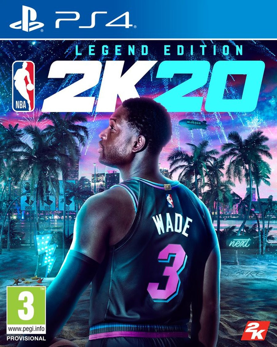 PS4 NBA 2K20 - Legend Edition
