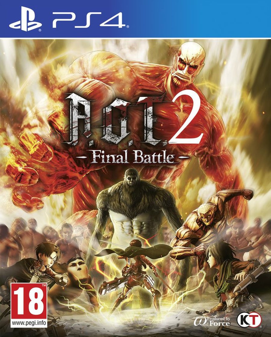PS4 Attack on Titan 2 (AOT 2) Final Battle