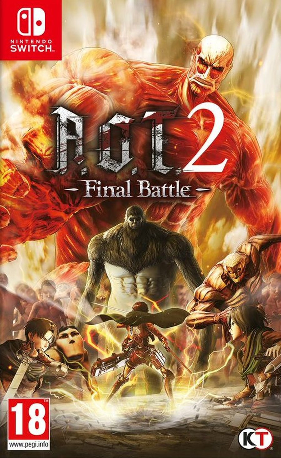 SWITCH Attack on Titan 2 (AOT 2) Final Battle
