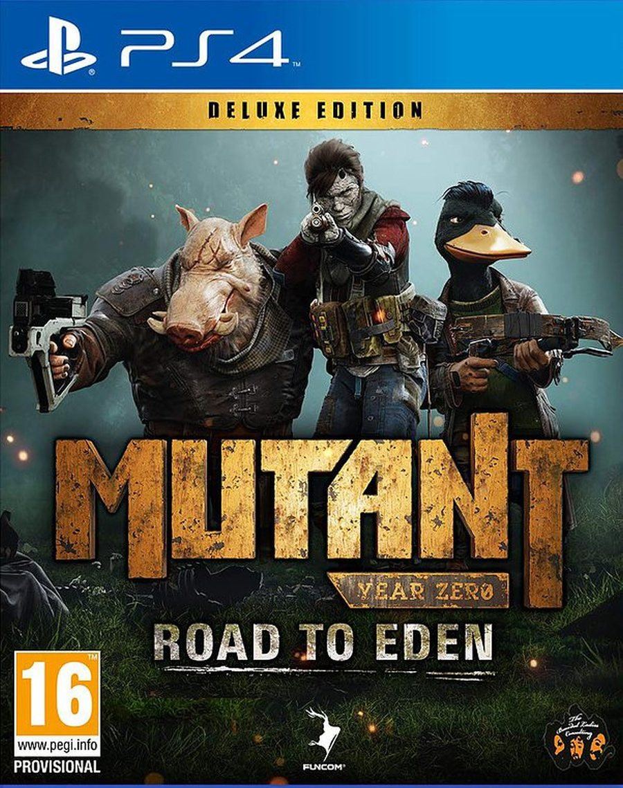 PS4 Mutant Year Zero - Road to Eden - Deluxe Edition