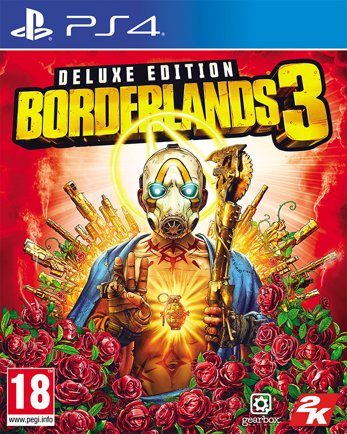 PS4 Borderlands 3 - Deluxe Edition
