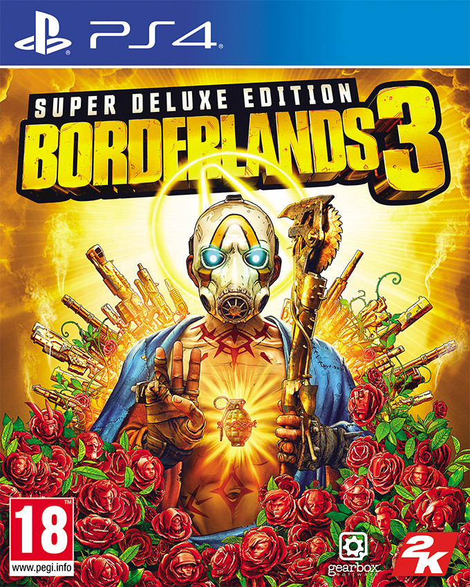 PS4 Borderlands 3 - Super Deluxe Edition
