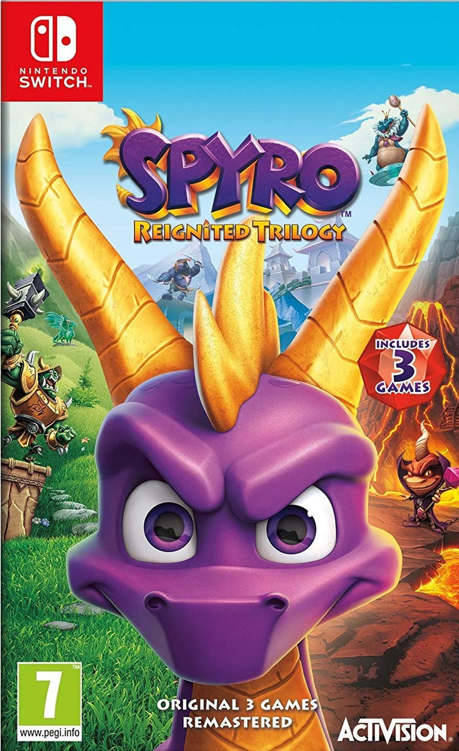 SWITCH Spyro Trilogy Reignited