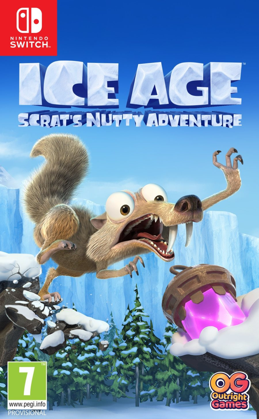 SWITCH Ice Age - Scarts Nutty Adventure!
