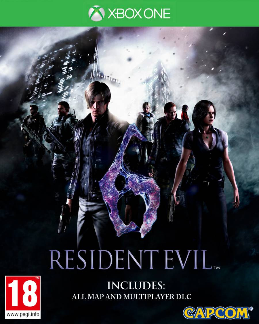 XBOX ONE Resident Evil 6
