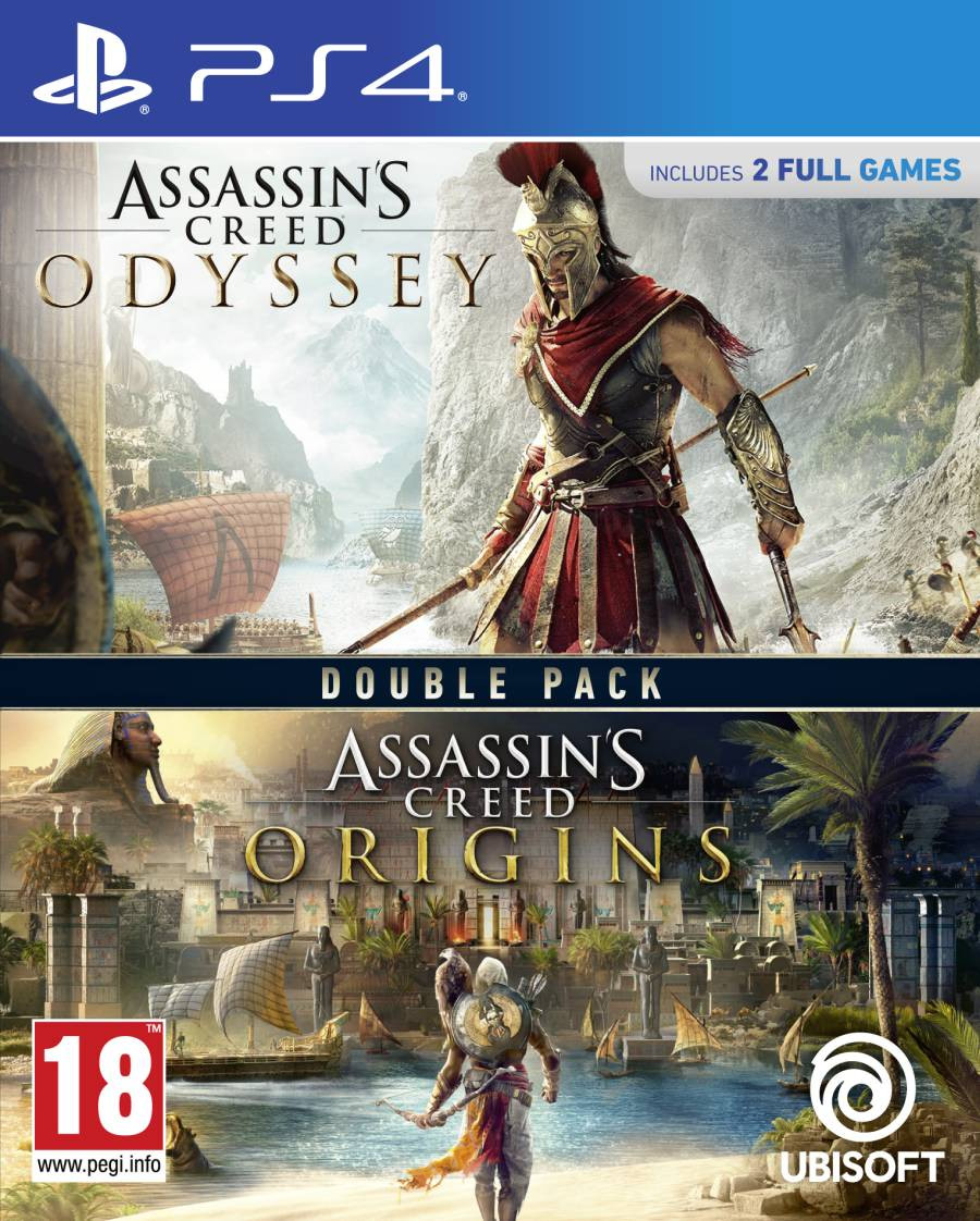 PS4 Assassins Creed Odyssey + Assassins Creed Origins