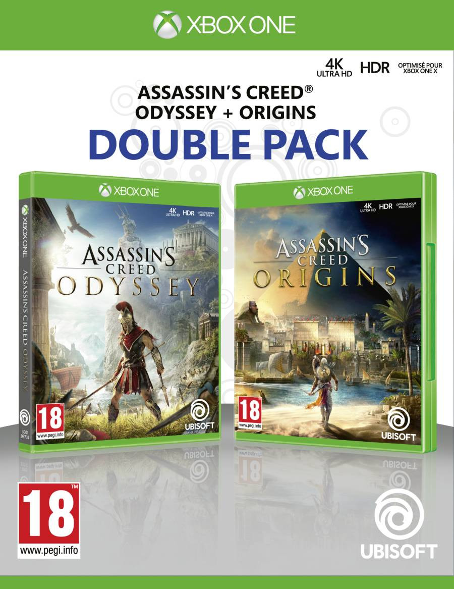 XBOX ONE Assassins Creed Odyssey + Assassins Creed Origins