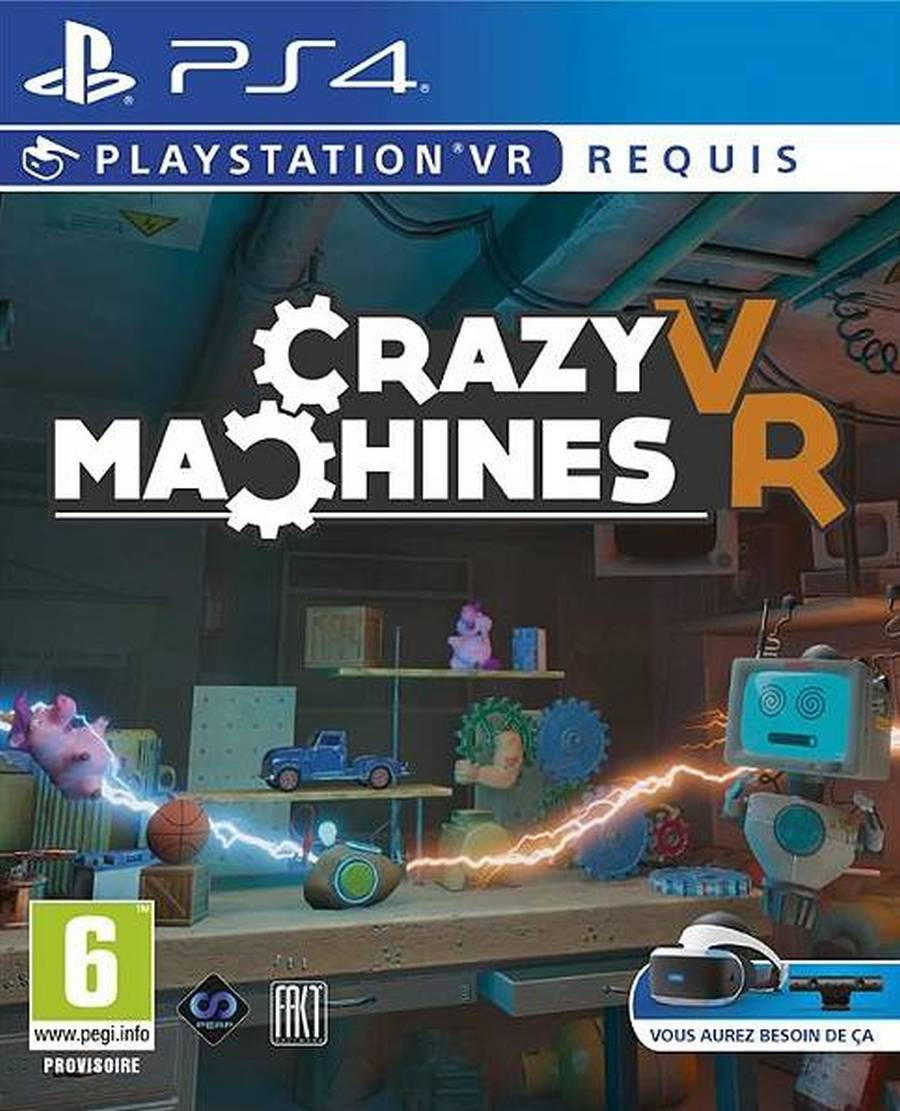 PS4 Crazy Machines VR