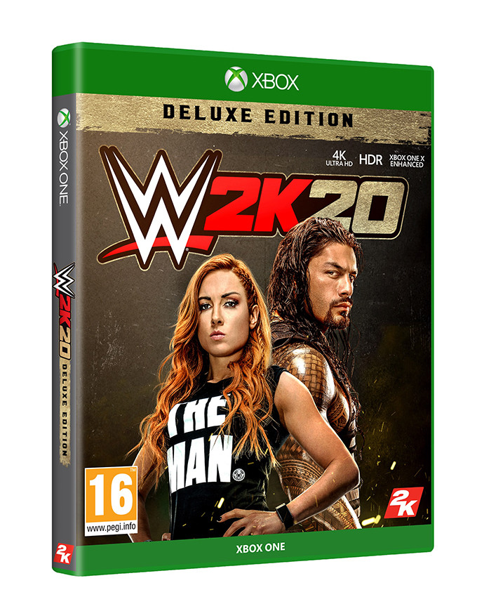 XBOX ONE WWE 2K20 Deluxe Edition