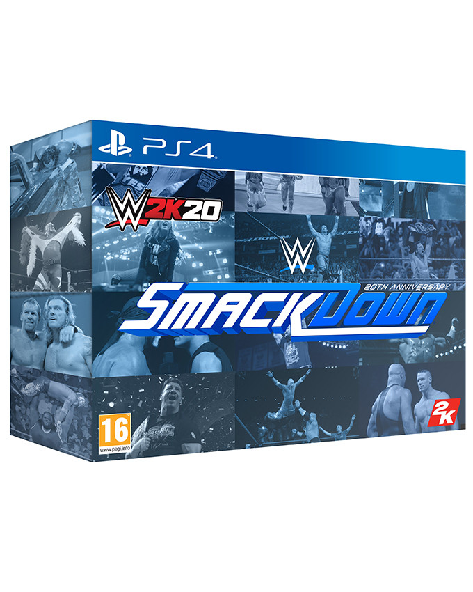 PS4 WWE 2K20 Collectors Edition
