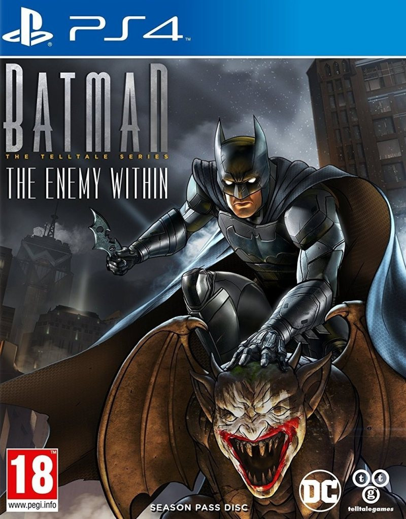PS4 Batman The Enemy Within