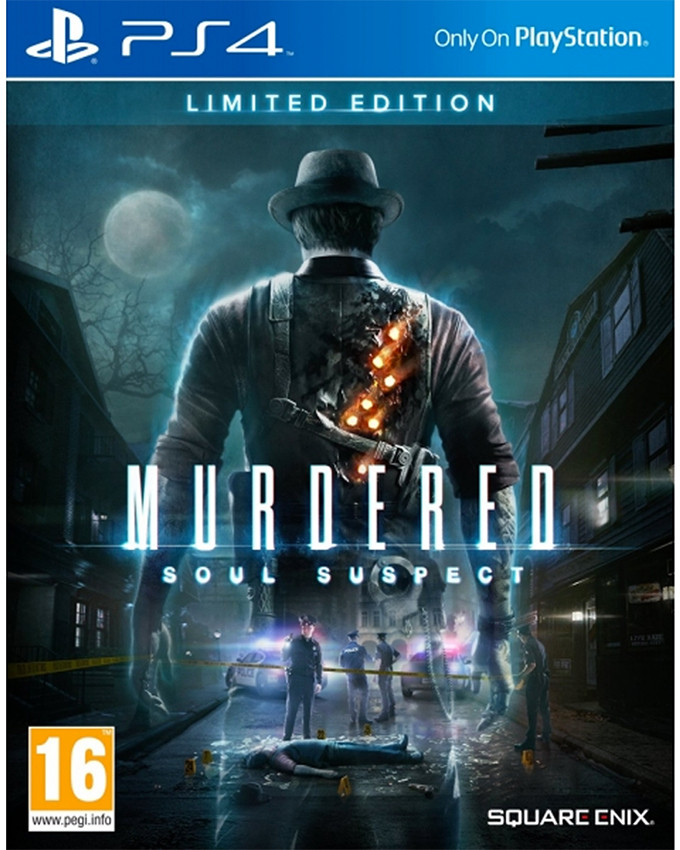PS4 Murdered Soul Suspect - Limited Edition