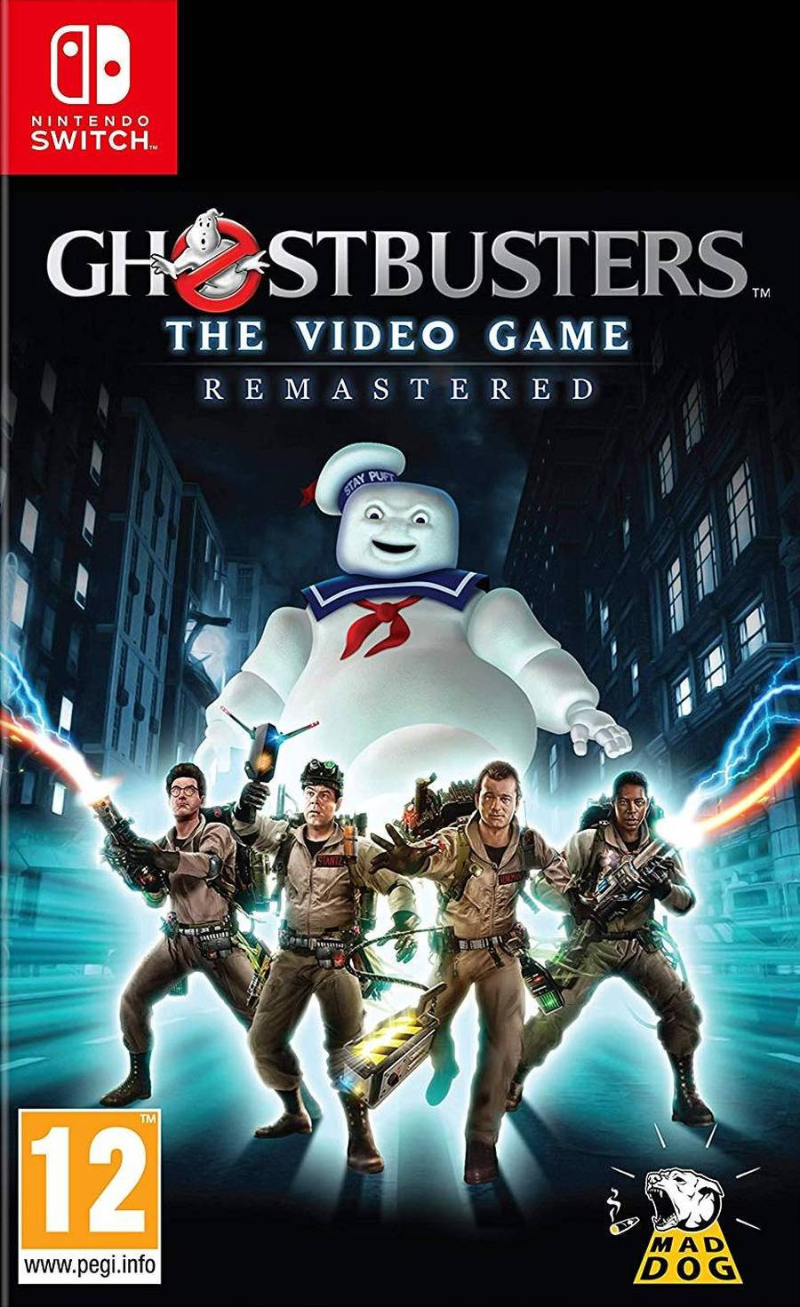 SWITCH Ghostbusters The Video Game - Remastered