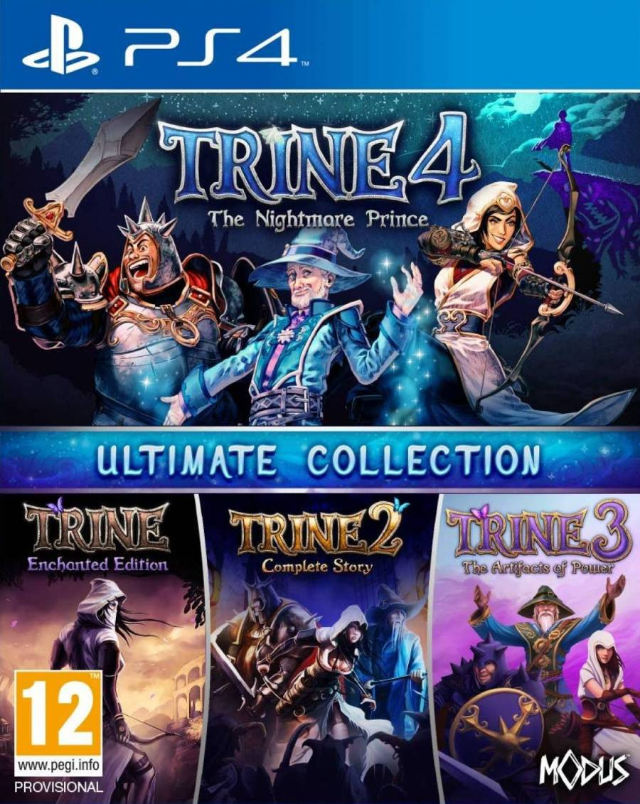 PS4 Trine Ultimate Collection