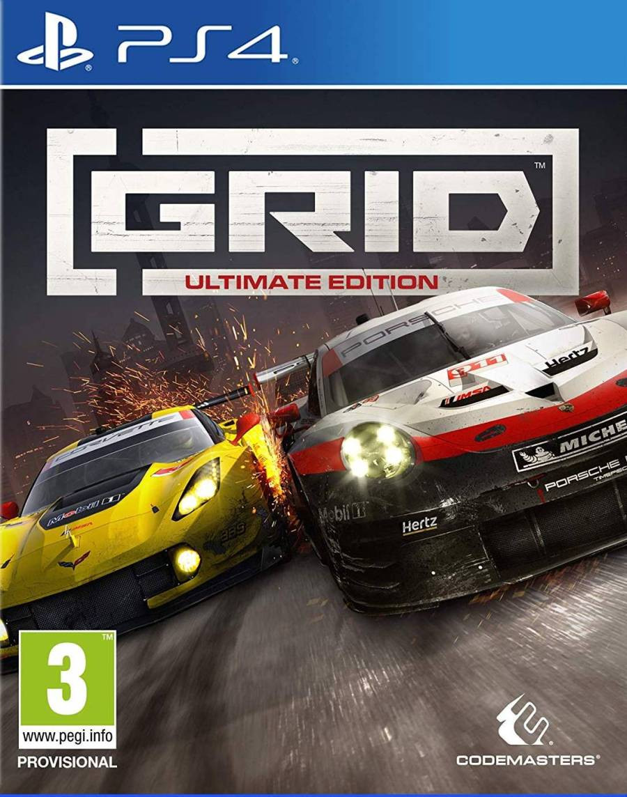 PS4 GRID 2019 - Ultimate Edition