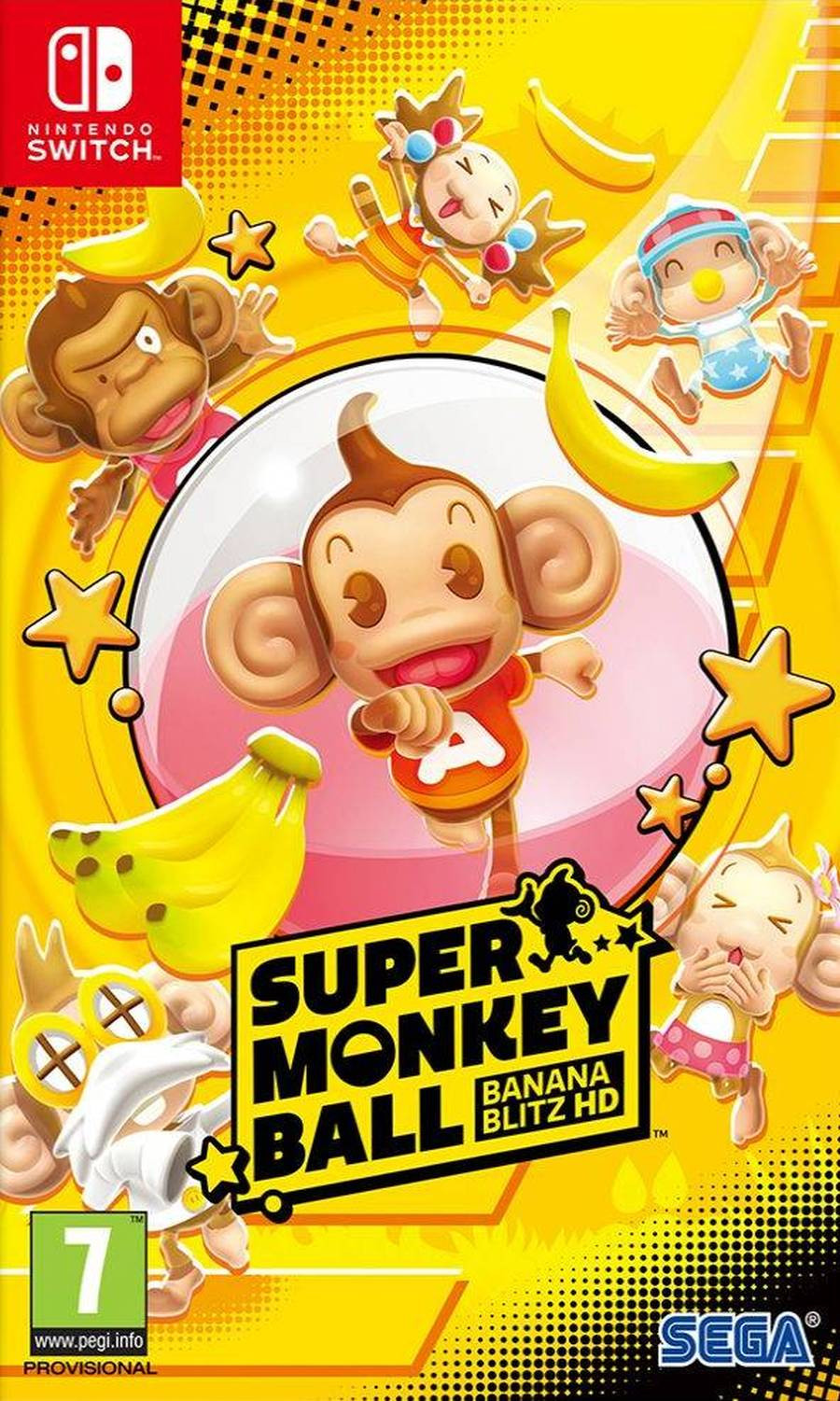 SWITCH Super Monkey Ball Banana Blitz HD