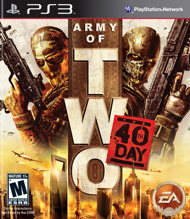 PS3 Army Of Two - 40th Day