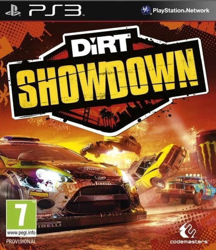 PS3 Colin McRae Dirt Showdown