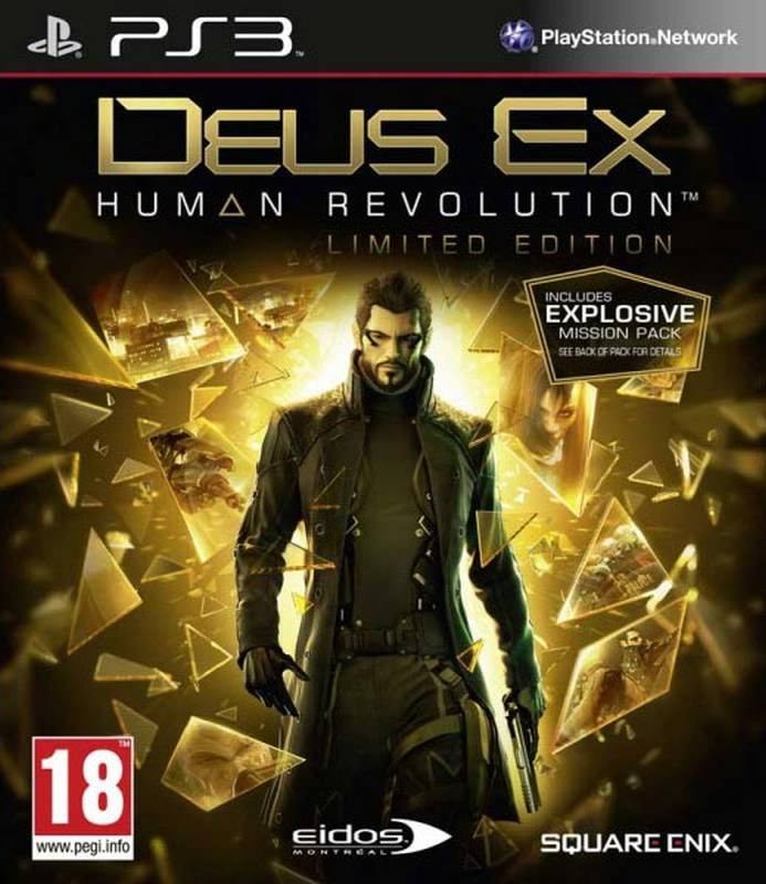 PS3 Deus Ex - Human Revolution - Limited Edition