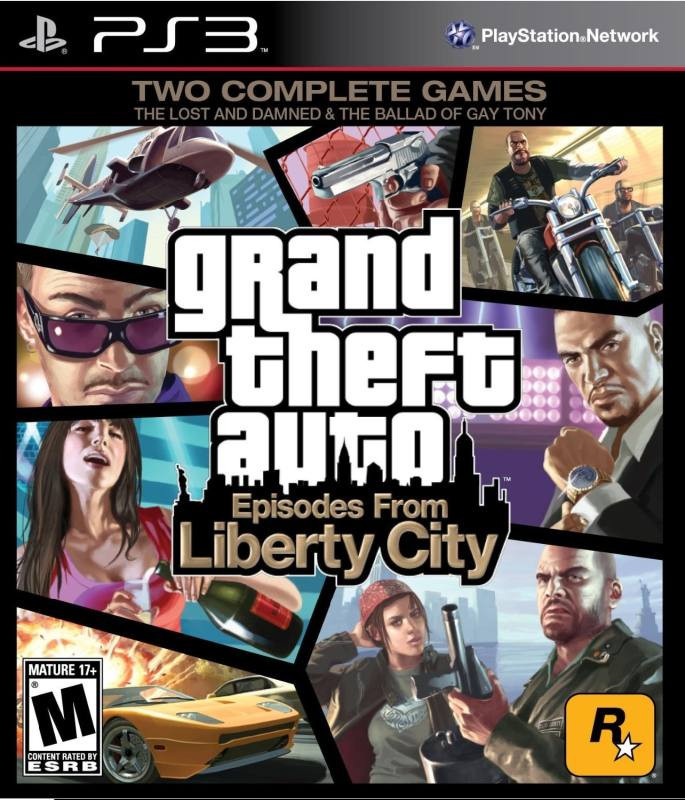 PS3 GTA 4 Episodes from Liberty City