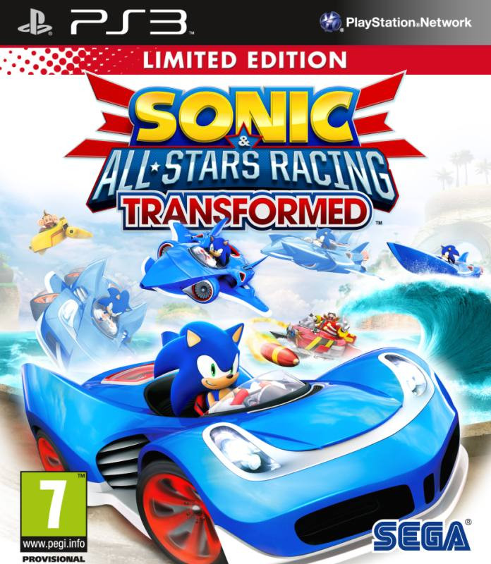 PS3 Sonic & SEGA All-Stars Racing Transformed - Limited Edition
