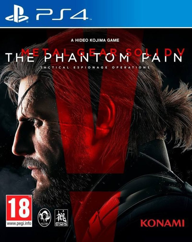 PS4 Metal Gear Solid 5 The Phantom Pain