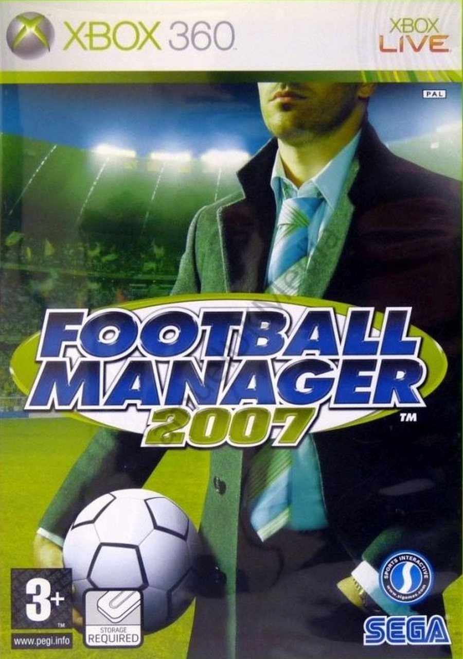 XBOX 360 Football Manager 2007