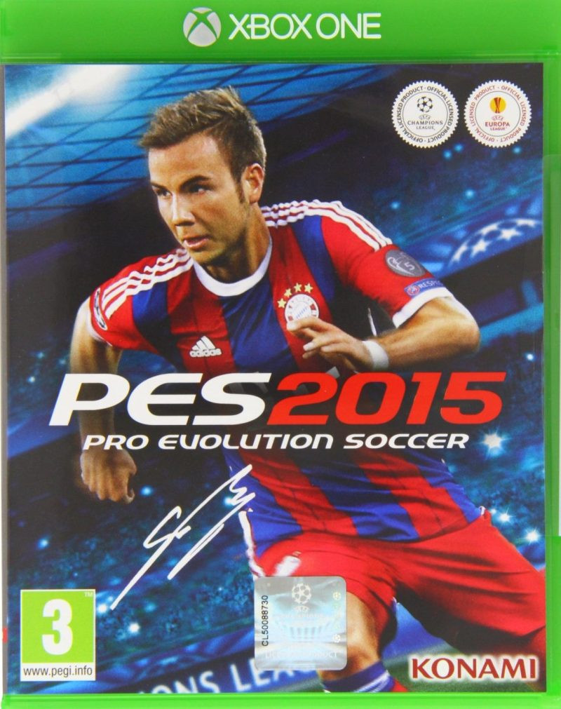 XBOX ONE Pro Evolution Soccer 2015 PES 2015