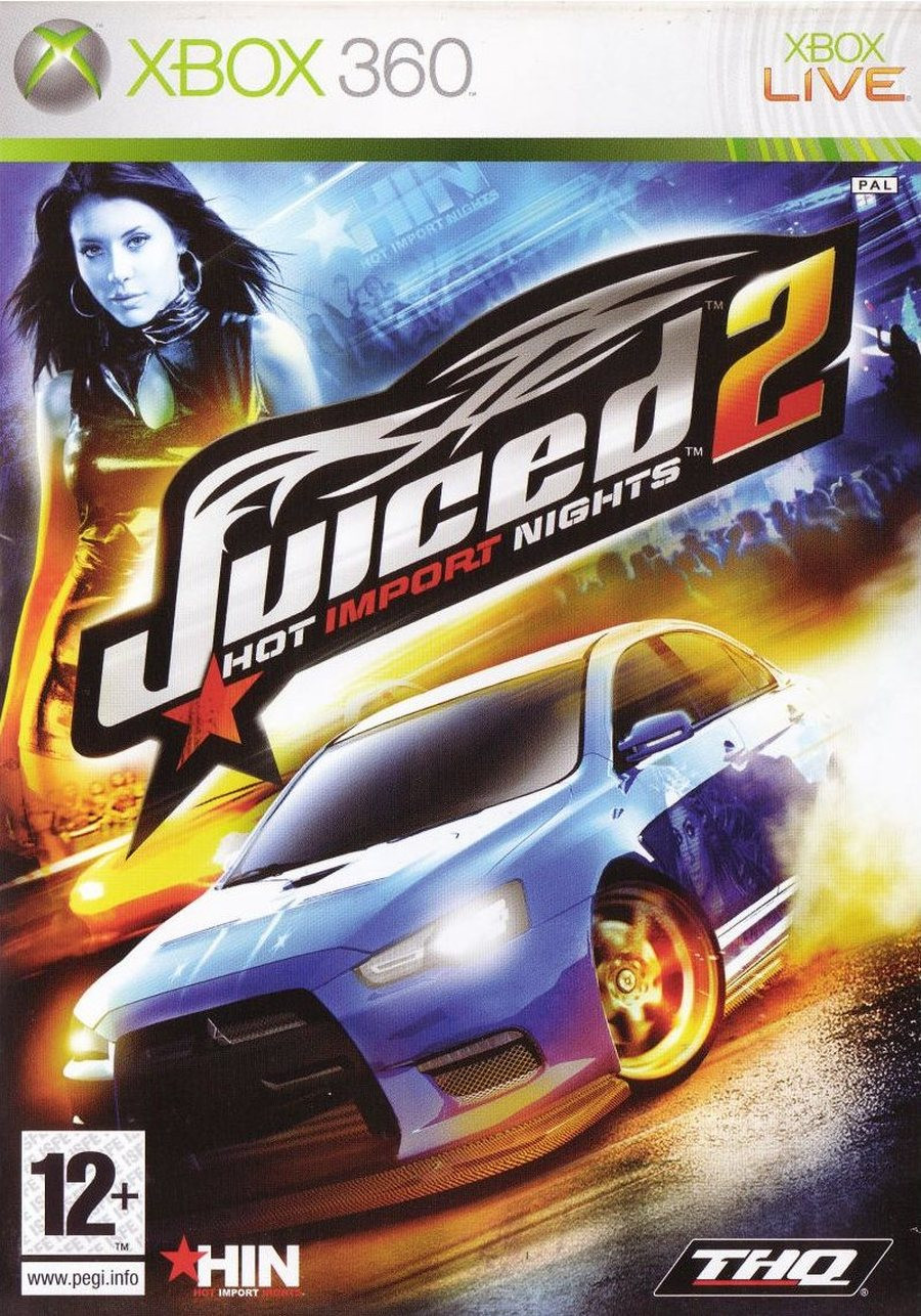 XBOX 360 Juiced 2 Hot Import Nights