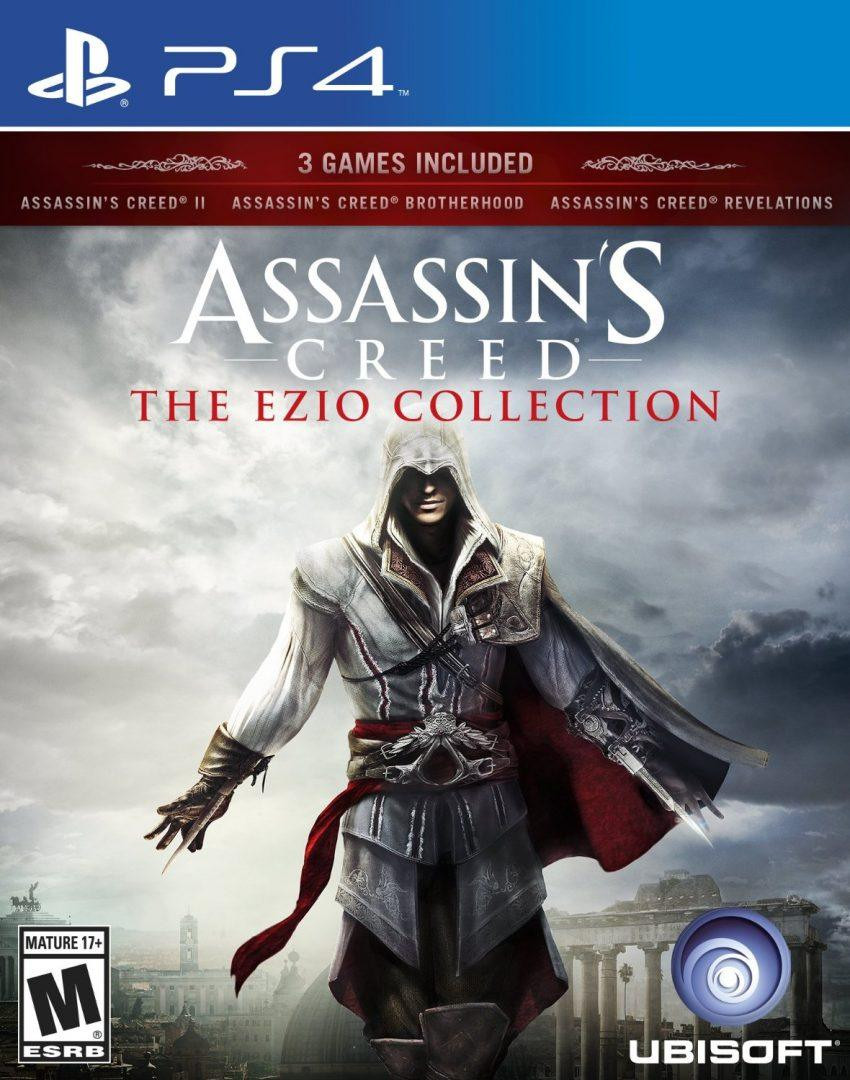 PS4 Assassins Creed Ezio Collection